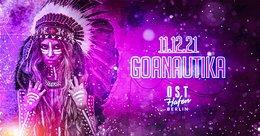 Party flyer: Goanautika Last Dance 2021 11 Dec '21, 22:00