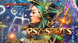 Party flyer: Psy-Spirits 2021 18 Dec '21, 22:00