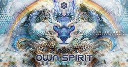 Party flyer: Own Spirit Festival 2022 14 Jul '22, 10:00
