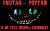 Party flyer: FREItag = PSYtag ! 17 Jan '20, 23:00