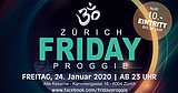 Party Flyer FRIDAY PROGGIE 24 Jan '20, 23:00
