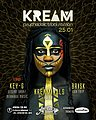 Party flyer: KREAM 25 Jan '20, 23:30