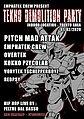 Party flyer: demolition party 1 Feb '20, 22:00