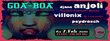 Party Flyer Goa-Boa | Psy & Progressive Banger 7 Feb '20, 23:00
