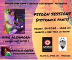 Party Flyer Psygon Sessions 7. Feb. 20, 22:00