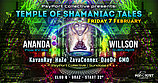Party flyer: PsyPort Collective presents - Temple of Shamaniac Tales 7 Feb '20, 22:00