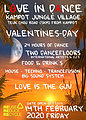 Party Flyer Love in dance 14 Feb '20, 22:00