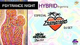 Party Flyer Psytrance night at PPB // Hybrid Argentina // 28 Feb '20, 23:00