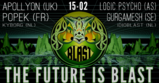 Party flyer: Amsterdam Blast Events: The Future Is Blast! 15 Feb '20, 22:00