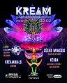 Party Flyer KREAM w/ Hypnoxock (LIVE) - Hueznar Festival Teaser 22 Feb '20, 23:30
