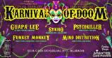 Party flyer: Hamsa Psytrybo // Karnival Of Doom 2020 24 Feb '20, 23:00