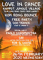 Party Flyer Koh Rong Bounce - Jungle crew 26 Feb '20, 18:00