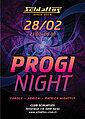 Party flyer: Progi Night 28 Feb '20, 23:00