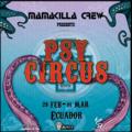 Party Flyer Psy Circus Dark Whisper Ecuador 28 Feb '20, 19:00