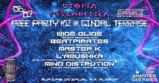 Party Flyer Hamsá Psytrybo & Utopia Psycadelica // Free Party #12 6 Mar '20, 23:00
