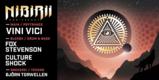 Party Flyer Nibirii 3: VINI VICI, Fox Stevenson, Culture Shock, B. Torwellen 6 Mar '20, 23:00