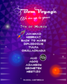"Party flyer: Bom Voyage: Radiate ""We are in Space"" 7 Mar '20, 23:00"