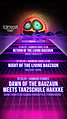 Party flyer: Down of the bauzaun 7 Mar '20, 23:00