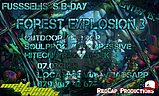Party Flyer Forest Explosion 3 - Fusseli's BDay - CHIPE, EDI, SERIX (Out&Indoor) 7 Mar '20, 21:00