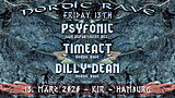 Party Flyer Nordic Rave : Friday 13th 13 Mar '20, 22:00