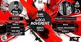 Party Flyer ✾ Loco Movement ✾ /w Siro, Felix Bernhardt uvm. 20 Mar '20, 22:00
