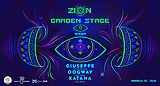 Party Flyer ZION: GARDEN STAGE TEASER with GIUSEPPE at MONO HALL 20 Mar '20, 23:00