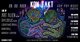 Party Flyer KONTAKT _ Art Alien live-set (UKR) & Dj Shylodelic (UKR) 28 Mar '20, 23:00