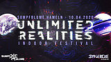 Party Flyer Unlimited Realities - Indoor Festival 10 Apr '20, 23:30