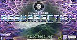Party flyer: RESURRECTION - Micro Festival 3 Apr '21, 16:00