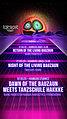 Party Flyer Return of the living Bauzaun *Kiel Connection* 17 Apr '20, 22:00