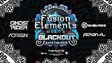 Party Flyer ‡ Fusion Elements meets Blackout ‡ 3 Oct '20, 22:00