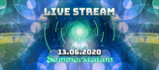 Party Flyer Pre-chedelic-Opening Summerstation / Live Stream 13 Jun '20, 15:00