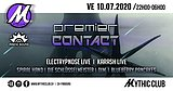 Party flyer: Premier Contact 10 Jul '20, 22:00