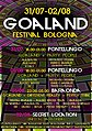 Party Flyer GOALAND FESTIVAL 31 Jul '20, 18:00
