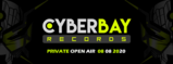 Party Flyer CyberBay Private Open Air Party - Support Your Local Artistsn 8 Aug '20, 16:00