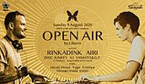 Party flyer: Open Air by Libero 9 Aug '20, 23:00