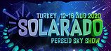 Party flyer: Solarado Festival Perseid Sky 12 Aug '20, 18:00