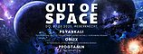 Party Flyer Out of Space 27 Aug '20, 20:00