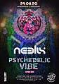 Party Flyer Psychedelic VIBE Open Air W/ Neelix 29 Aug '20, 14:00