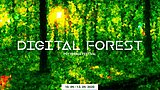 Party Flyer Digital Forest - Psychedelic Trance Music Festival 2020 10. Sep. 20, 18:00