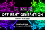 Party flyer: OFF BEAT GENERATION - 2 STAGE - PROGRESSIVE + TECHNO 3 Oct '20, 22:00