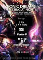 Party flyer: Sonic Dreams Meeting at Night ! 3 Oct '20, 20:00