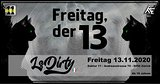Party Flyer ▂▃▅▇█Freitag der XIII █▇▅▃▂ w// Ls.Dirty Live 13 Nov '20, 23:00