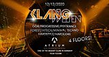 Party flyer: Klangwelten Das Indoor Festival in Kiel 12 Dec '20, 22:00