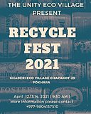 Party Flyer RECYCLE FEST 2021 12 Apr '21, 11:30