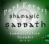 Party Flyer Shamanic Sabbath 22 May '21, 12:00