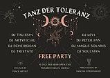 Party Flyer Tanz Der Toleranz 10 Jul '21, 18:00