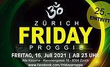 Party Flyer FRIDAY PROGGIE 16 Jul '21, 23:00
