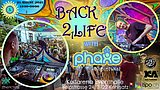 Party Flyer ProgVisions Back 2 Life Daydance w/ PHAXE uvm. 21 Aug '21, 13:00