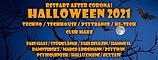 Halloween 31 Oct '21, 22:00